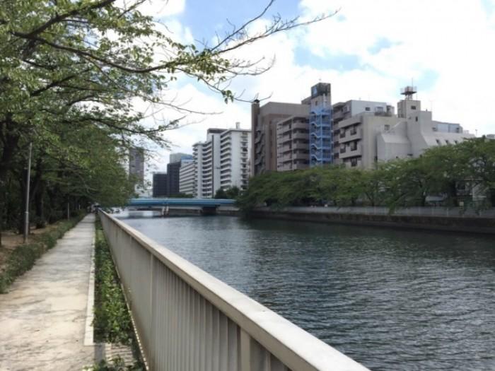 江戸時代の塩の道-小名木川