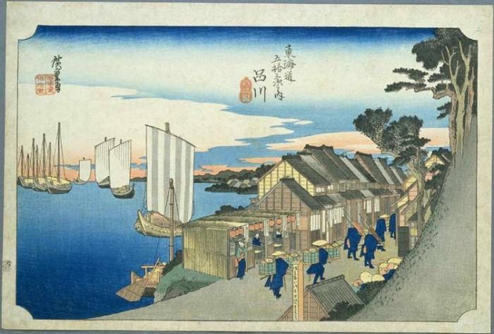 海辺の宿場町-東海道品川宿