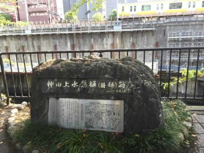 水道橋の由来-神田上水掛樋