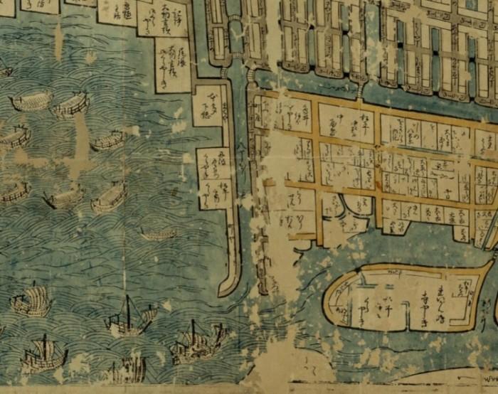 武州豊嶋郡江戸庄図に描かれた八丁堀