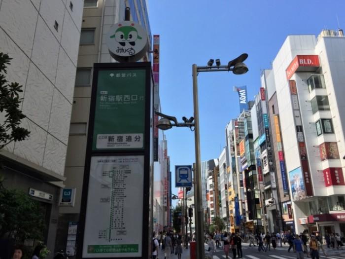 新宿の地名の由来-内藤新宿追分
