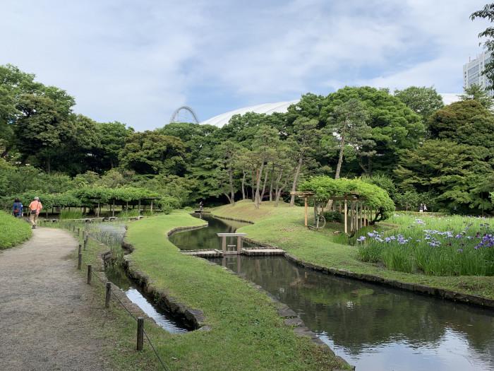 小石川後楽園神田上水跡