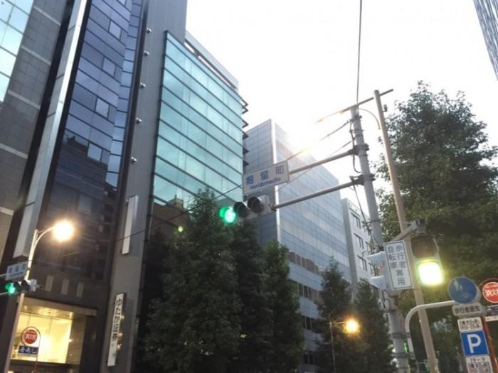 江戸時代の船着場-日本橋堀留町