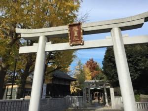 三囲神社の鳥居