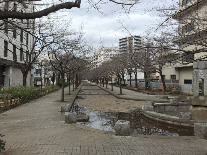 浅草吉原への通い道-山谷堀