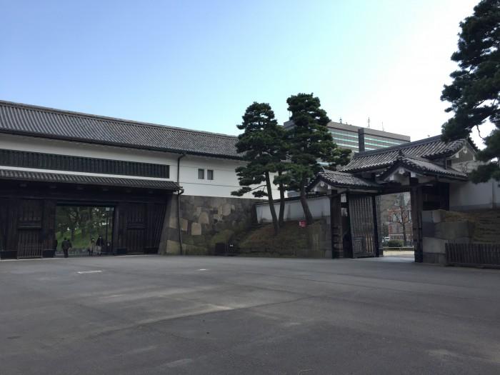 井伊直弼終焉の地-江戸城桜田門