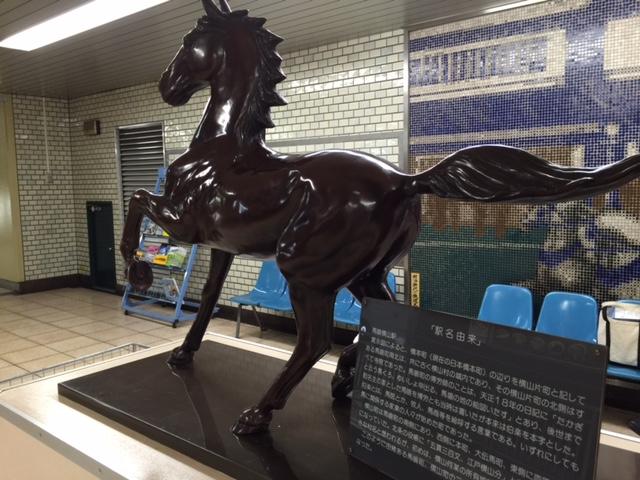 馬喰町の地名の由来-日本馬と博労