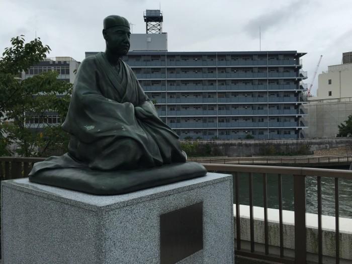 「おくのほそ道」への出発点-芭蕉庵跡と千住大橋(1)