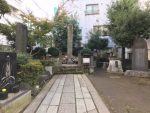 近藤勇の墓所-板橋駅前供養塔