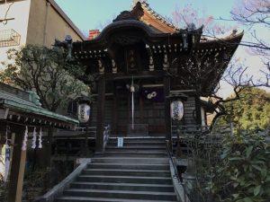 日本橋浜町の浜町公園内にある清正公寺