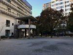 時の鐘と伝馬町牢屋敷-十思公園