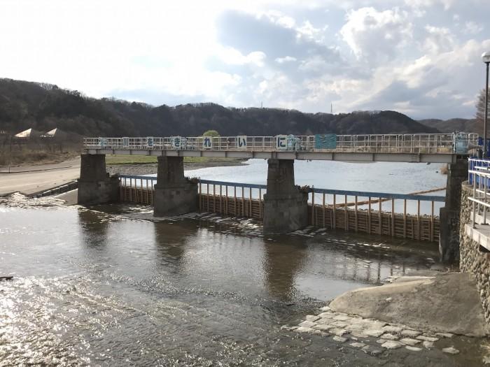 江戸発展の原点-羽村取水堰