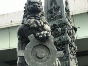 日本橋唐獅子