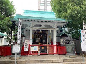 椙森神社拝殿