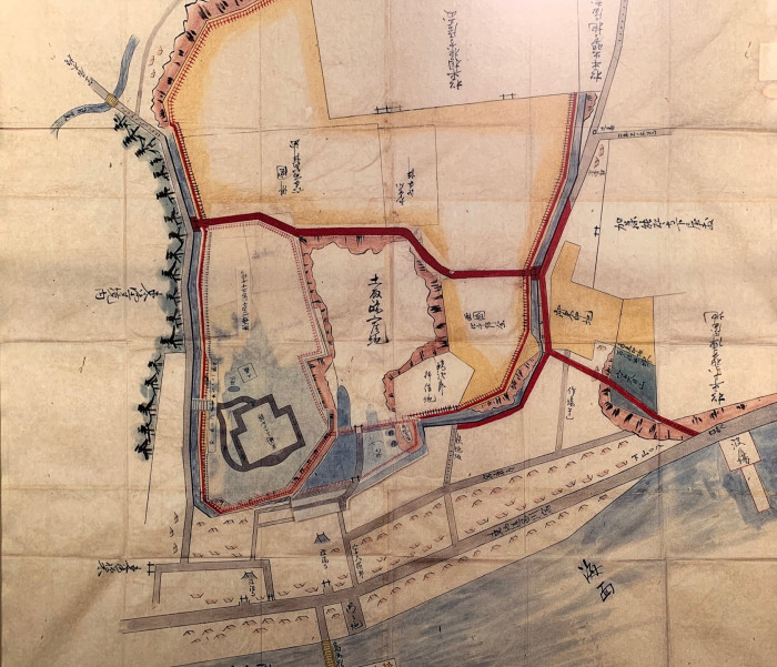 御殿山公使館地図