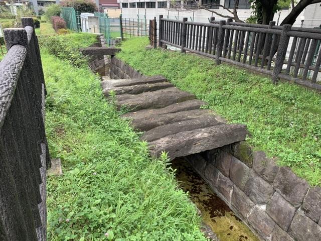 給水所公苑内、白堀