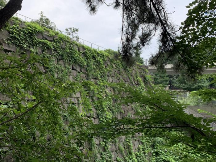 四谷御門石垣